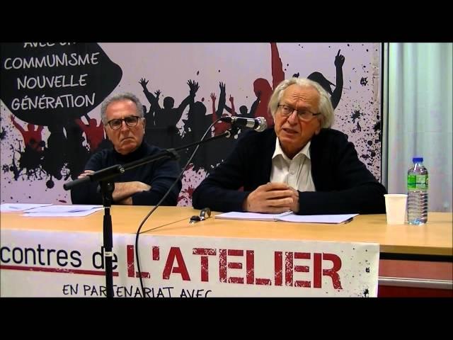 Rencontre du jeudi 21 janvier 2016 avec Bernard Friot et Pierre Ivorra