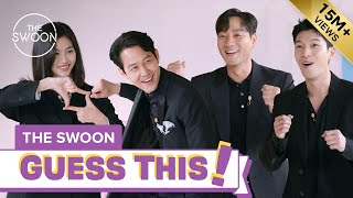 Cast of Squid Game ditches tracksuits for suits to play charades [ENG SUB]
