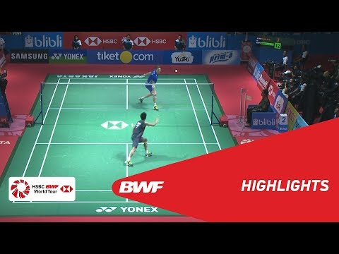 BLIBLI Indonesia Open 2018 | Badminton MS - F - Highlights | BWF 2018