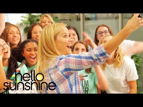 Reese Witherspoon Educates Young Female Storytellers | AT&T Hello Sunshine Filmmaker Lab