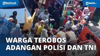 Detik-detik Warga Bondowoso Rebut Jenazah Covid di Puskesmas Pujer, Terobos Adangan Polisi dan TNI