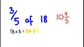 Mental math trick to work out fractions of an amount!
