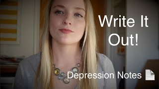 Coping With Depression | Write It Out
