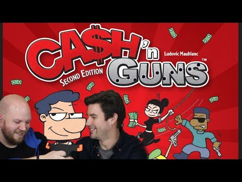Fun With Geeks Live | Cash N' Guns (Kaci, NeocoreGames) - Fun With Geeks