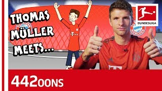 Thomas Müller Meets Thomas Müller  - Powered By 442oons