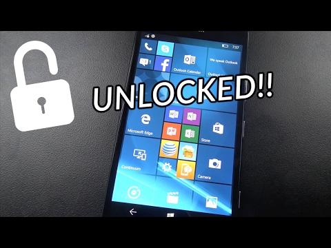 How To Unlock ANY Microsoft Lumia phone | 950, 640, 521, 560, 630, etc.