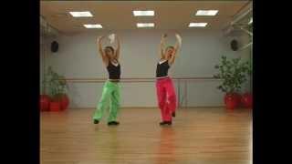Смотреть онлайн Танцевальная аэробика в русском народном стиле