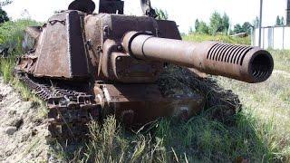 Покинутые и забытые танки разных времен...