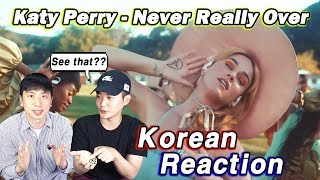 🔥(ENG)/ KOREAN Rappers / react to Katy Perry - Never Really Over💧💧