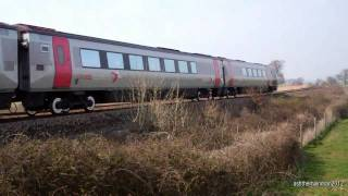 preview picture of video 'powderham And Starcross | HST | 26th March 2011'