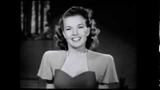 "Gale Storm - ""On the Sunny Side of the Street"" (1946)"