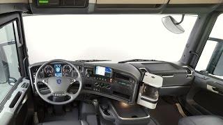 Обзор SCANIA R420. Европейский грузовик, кабина. (№ 9).