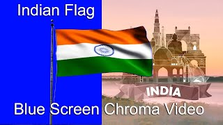 Indian Flag Blue Screen | Indian flag videos | 15 August Independence day background | #Indianflag