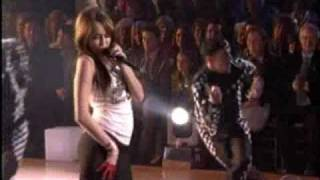 Miley Cyrus Dancing With the Stars November 25, 2008