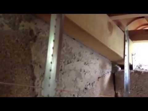 Ferrailler un plafond rampant Avec des suspente