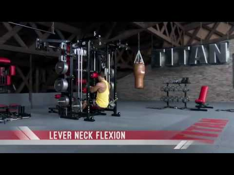 Exercise 232   Video of Lever Neck Flexion on the TITAN T1 Xdescargaryoutube com