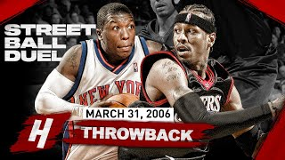 The Game Allen Iverson SCORED 47 PTS at MSG! STREETBALL DUEL Highlights vs Nate Robinson | 2006