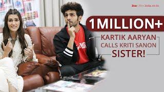 Sara Ali Khan makes Kartik Aaryan blush   Exclusive   Luka Chuppi