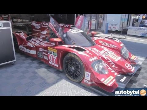 Mazda Prototype Race Car Powered by Chicken Fat Video