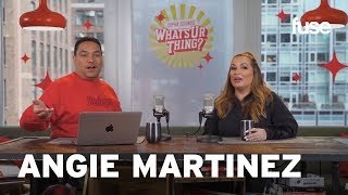 What's Ur Thing: Angie Martinez Plays BLeBRiTY & Talks Her Infamous Tupac Interview