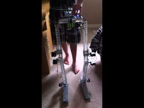 Anthropomorphic Robot Legs - Second Video