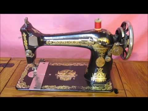 Ремонт швейной машинки SINGER 1924 года