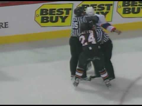 Georges Laraque vs. Josh Gratton