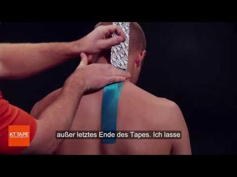 Behandlung von Lenden- Hernie Gymnastik