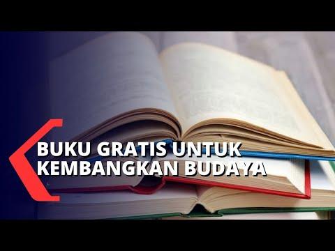 lapak buku gratis untuk kembangkan budaya baca