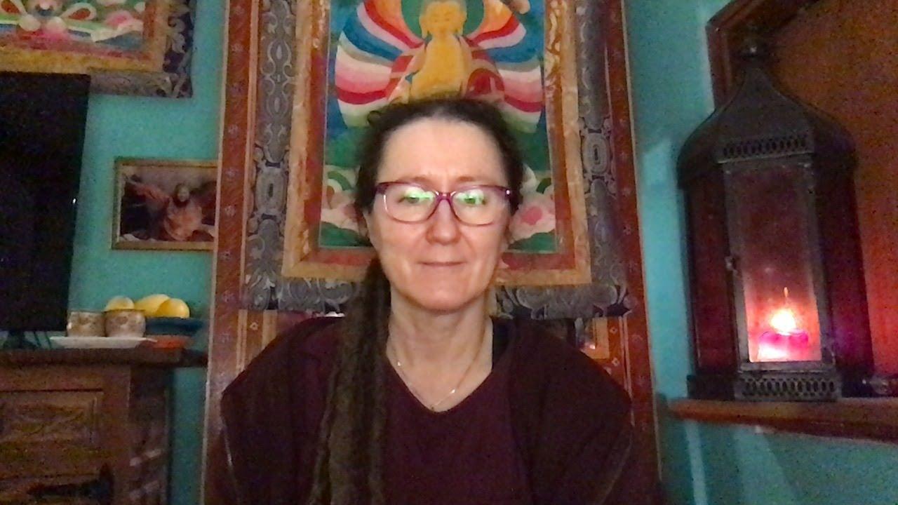 Lama Gangchen Tantric Self-Healing 2- Commentary by Lama Caroline - part 22  (EN)