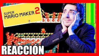 😍 REACCIÓN SUPER MARIO MAKER 2 DIRECT En ESPAÑOL (Nintendo SWITCH) 😍 2019