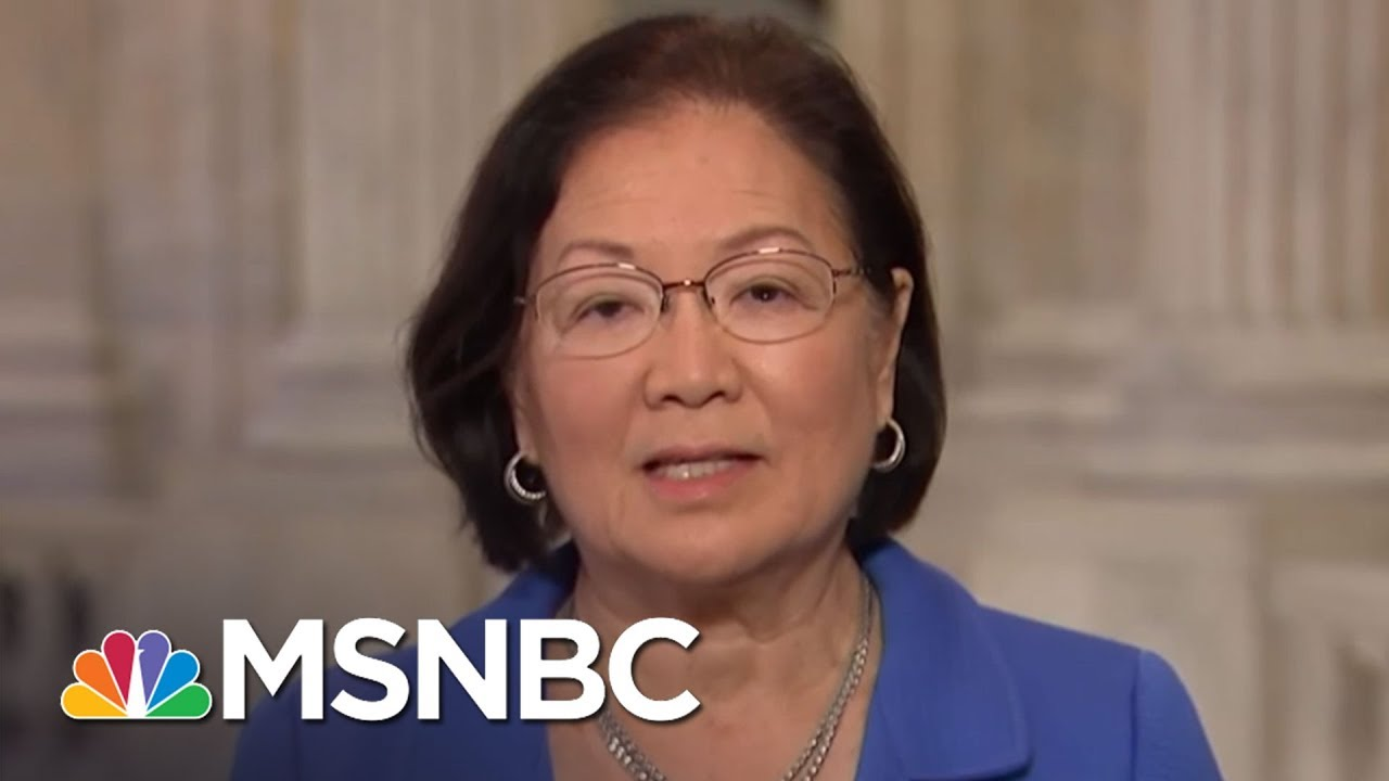 Senator Mazie Hirono On Sexual Harassment: We Need To 'Confront Culture' | MTP Daily | MSNBC thumbnail