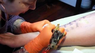 Literary Tattoo: Stacy Pershall