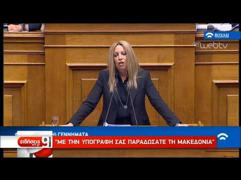 Διαξιφισμοί στη Βουλή   8/2/2019   ΕΡΤ