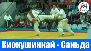 Киокушинкай Каратэ (Россия) против Саньда Ушу (Китай).