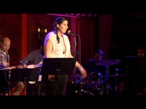 """""""Put on a Smile"""" Written by Natalie Rebecca Lovejoy for Muse Match 2016. 54 Below, New York, NY. Sung by Ally Bonino"""