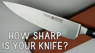 How To Sharpen Chef Knife