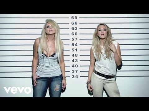 Miranda Lambert - Somethin' Bad (Official Music Video) ft. Carrie Underwood