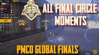All 16 Final Circle Moments | PMCO FALL SPLIT 2019 | GLOBAL FINALS