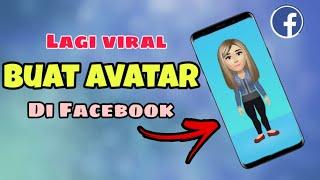 Cara Membuat Avatar Facebook yang Lagi VIRAL Tanpa Aplikasi 2020