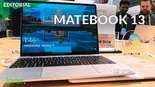 CES 2019: Matebook 13 de Huawei digno rival de la MacBook Air