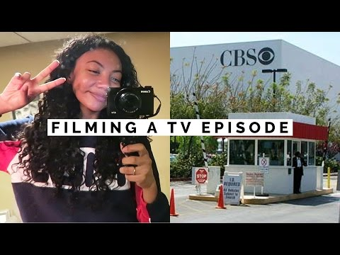 BEHIND THE SCENES: FILMING A TV SHOW EPISODE | VLOG S02E03
