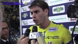 preview picture of video 'A1 M. Casa Modena: Bruninho, la gioia dopo la prima vittoria'