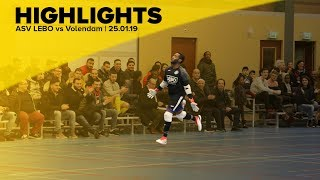 HIGHLIGHTS | ASV LEBO vs Zvv Volendam | 25.01.19