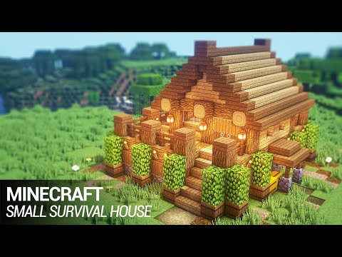 Easy Minecraft Build Small Survival House Minecraft Amino