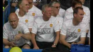 Sir Alex Ferguson's Balloon Scare With Sound (Exclusive!)