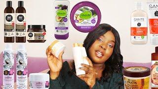 Produkt Review für 4C Afro Haare II Top 6 vegane Haarpflege Serien - Drogerie Edition