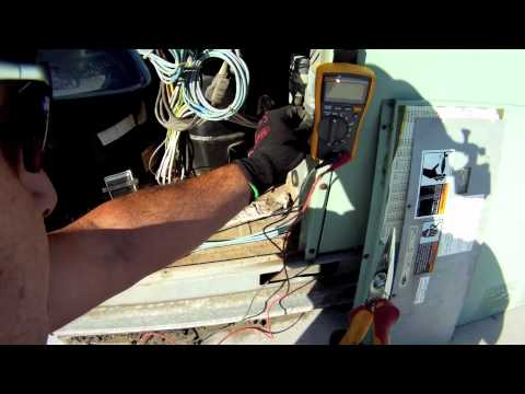 How to use a Fluke 116 HVAC Meter: Cooling + Heating