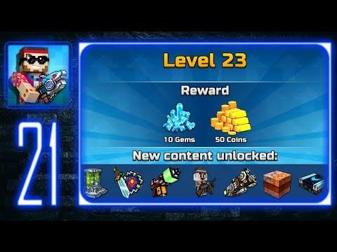 Pixel Gun 3D - Gameplay Walkthrough Part 21 - Level 23