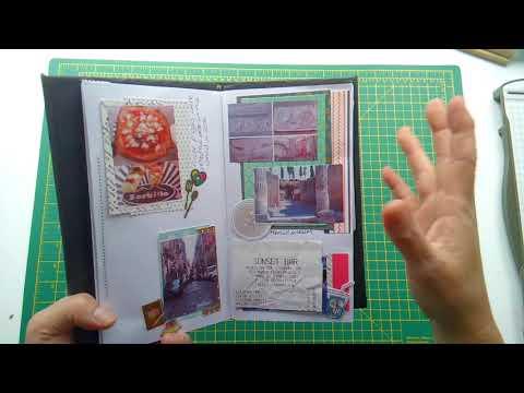 Travel Journal flip through